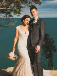 Tenille and Jono Lawrence<br>Waihi Beach<br>December 2015